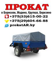 Аренда и прокат прицепов к легковым автомобилям в Борисове,  Жодино,  Крупках,  Березино,  Смолевичах