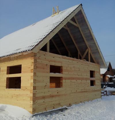 Дом из бруса строительство под ключ недорого - main